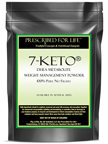 7-KETO (R) DHEA Metabolite Weight Management Powder - 100% Pure No Fillers, 2 oz