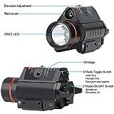 Feyachi LF-38 Red Laser Flashlight Combo 200