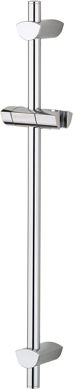 Bristan EVC ADR01 C EVO Riser Rail with Adjustable Fixing Brackets - Chrome Plated