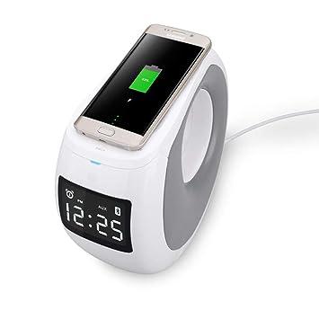 UNOKS - Cargador inalámbrico para teléfono móvil y Altavoz ...