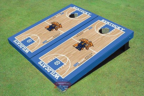All American Tailgate University of Kentucky Wildcat Basketball Court Matching Cornhole Boards