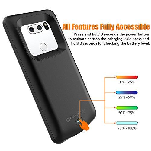 new arrival e847d 901ef LG V30 / LG V30+ Battery Case, Newdery 4200mAh LG V30 Charger Case, Slim  Portable Charging Case fo | PrestoMall - Batteries