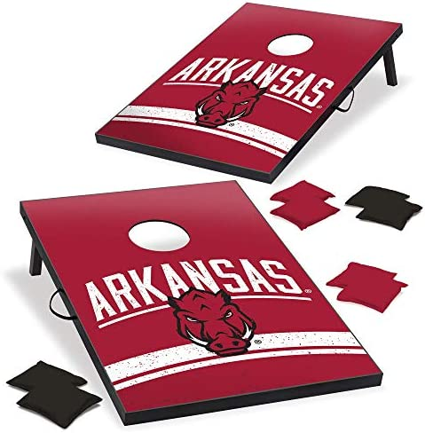 with Corners and Aprons Wild Sports NCAA North Carolina State Wolfpack 2 x 3 MDF Deluxe Cornhole Set Team Color