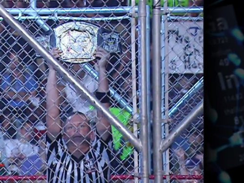 Raw October 2, 2006 Steel Cage Match For The WWE Championship John Cena Vs. Edge