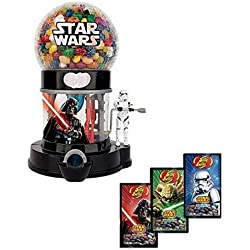 Jelly Belly Star Wars Death Star Machine Dispenser & 3 - 1 oz. Bags Galaxy Sparkling Jelly Beans
