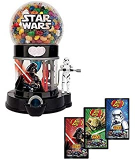 Jelly Belly Star Wars Death Star Machine Dispenser & 3 - 1 oz. Bags Galaxy