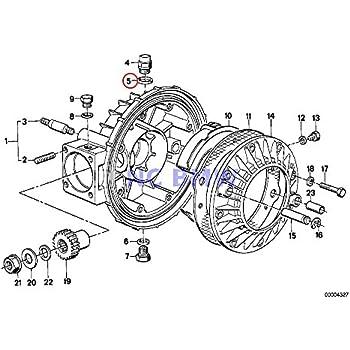 amazon com  2 x bmw genuine motorcycle gasket ring a8x11 5