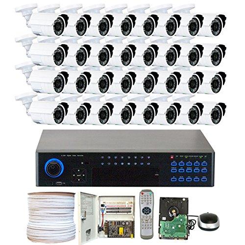GW Security VD32C32CH37HD 32 Channel 960H DVR Surveillance System