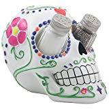 DWK Sugar 'N Spice Sugar Skull Salt and Pepper Shaker Set By