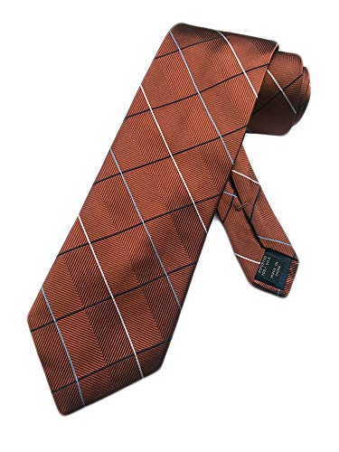 Jos. A. Bank Men's Silk Necktie Joseph A - One Size Neck Tie (Russet Brown) from Jos. A. Bank
