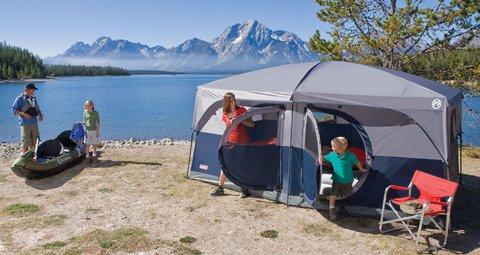 Coleman Hampton Family Cabin 2-Room Tent (9-Person)