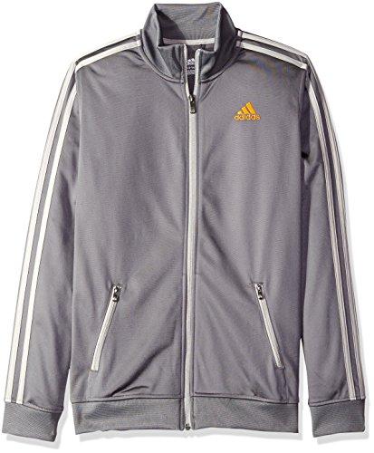 adidas Big Boys Separates Training Track Jacket, Granite/MGH, Medium/10-12