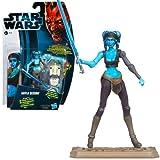 Hasbro Star Wars 2012 Clone Wars Basic Figure Ira Secura / Star Wars 2012 The Clone Wars Action Figure CW14 Aayla Secura [parallel import]