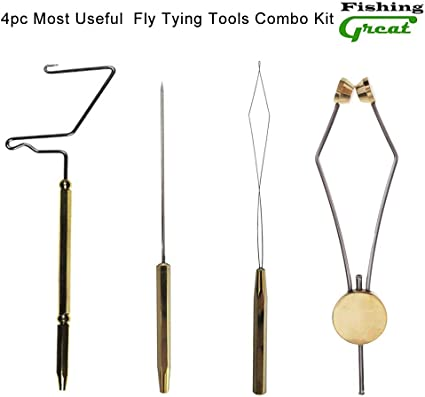 """NEW DR SLICK WHIP FINISHER 4/"""" BRASS fly fishing tying durable best"""