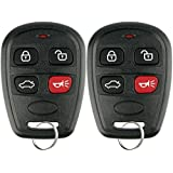 KeylessOption Keyless Entry Remote Control Car Key Fob Transmitter Alarm for Kia Spectra OSLOKA-630T (Pack of 2)