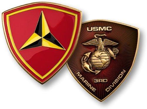 3rd Marine - Marine Challenge Coin Set