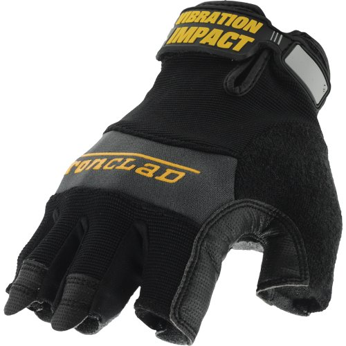 Ironclad MFI-02-S Mach-5 Vibration Impact Gloves, Small -