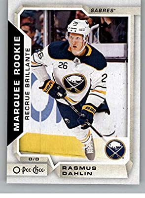 2018-19 O-Pee-Chee Update Hockey  650 Rasmus Dahlin RC Rookie Card Buffalo  Sabres NHL Trading Cards from Upper Deck Serie Two Pack 667b19e88