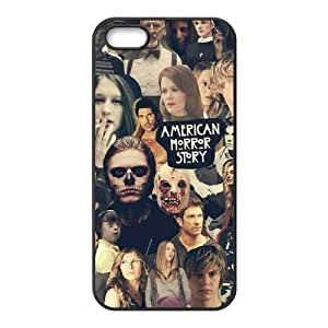 DIY Cover Case with Hard Shell Protection for Iphone 5,5S case with American Horror Story lxa#914550