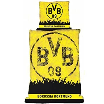 Bvb Borussia Dortmund Bettwasche Fans Amazon De Kuche Haushalt