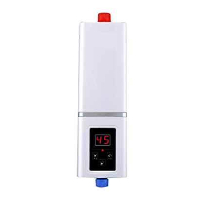 Water heater Roscloud@ 5500W 220V Calentador de Agua Eléctrico Calentador de Agua Instantáneo Kit Calentador
