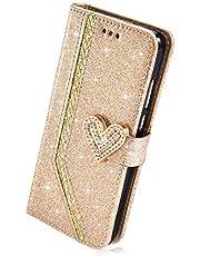 Uitstekend compatibel met Samsung Galaxy A6 Plus 2018 hoes lederen bescherming Samsung Galaxy A6 Plus 2018 goud