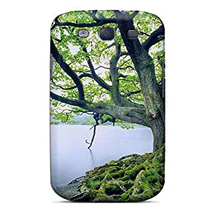 New Cute Funny Riverbank Tree Case Cover/ Galaxy S3 Case Cover
