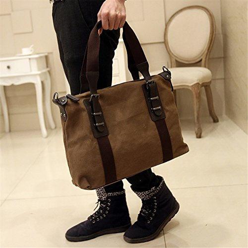 Laptop Xuanbao Shoulder Business Casual Bag Canvas Messenger Txwqr0Iwv