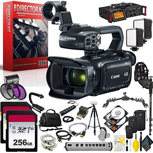 Canon XA11 Compact Full HD Camcorder Filmmaker Kit Bundle Kit