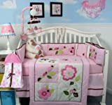 13-Piece-Ladybug-Party-Baby-Nursery-Crib-Bedding-Set