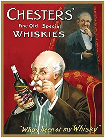 amazon com artwork beer whiskey chester s fine old special