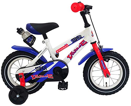 Volare Bicicleta Infantil Niño Chico 12 Pulgadas Super White Freno ...
