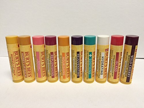 10 Pack Multi Flavor Burts Bees Assortment Lip - Burts Bees Chapstick Grapefruit