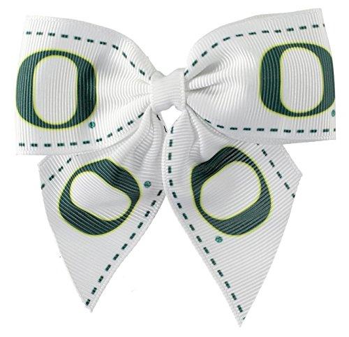 aminco NCAA Oregon Ducks Women's Bow Hair Clip, One Size