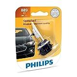 Philips 889 Lámpara Frontal Anti Neblina Halógena Estándar de Repuesto, paquete con 1 pieza