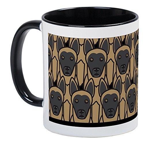 CafePress - Belgian Malinois Mug - Unique Coffee Mug, Coffee Cup (Belgian Malinois Mug)