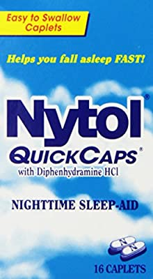 Nytol Nighttime Sleep Aid Quick Capsules