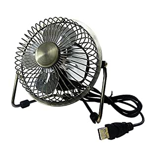 Amazon BOGZON USB Desk Fan Powerful Airflow