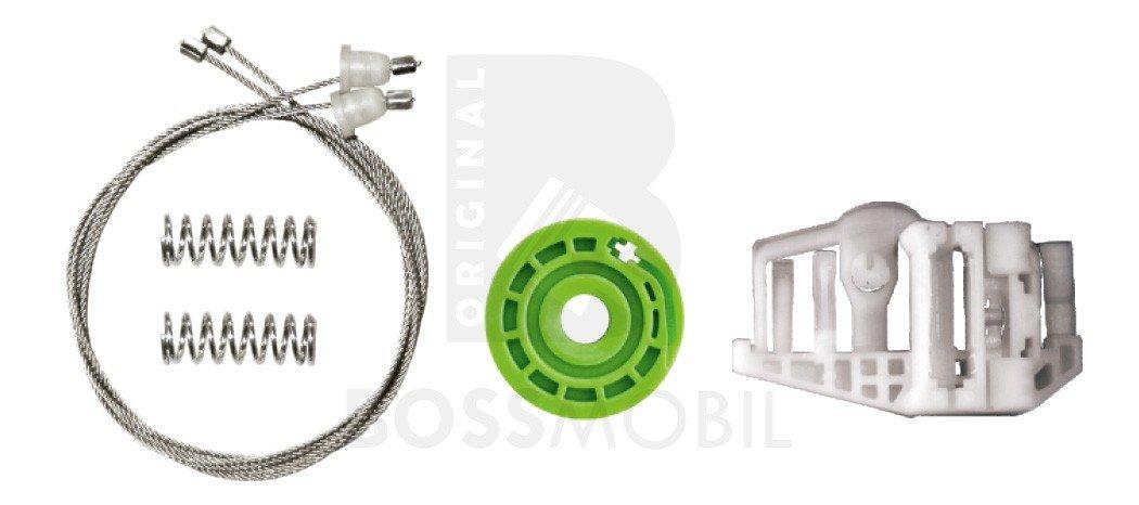 Amazon.es: Bossmobil (E90, E91), Trasero derecho, kit de reparación de elevalunas eléctricos
