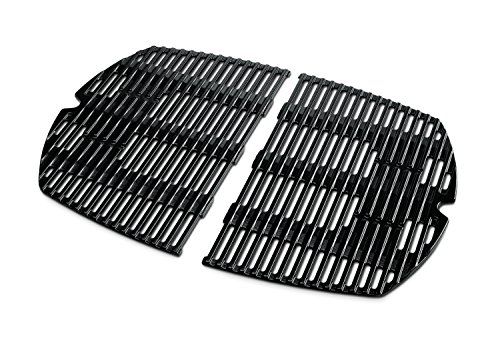 Weber 7646 Porcelain-Enameled Cast-Iron Cooking Grates