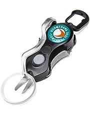 Boomerang Snips - Cortadores de línea de Pesca con Espiga retráctil de 91.4 cm y Cuchillas de Acero Inoxidable para Cortar líneas Trenzadas, monofilamento y Fluoro, nítida y uniformemente Siempre