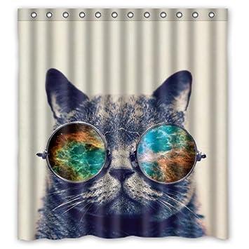 LESIF Gafas de Sol ecológicas para Gatos, Gatos, Galaxia, Hipster y Gatos,