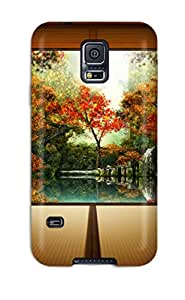 Alex D. Ulrich's Shop Christmas Gifts Waterdrop Snap-on Japansese Garden Case For Galaxy S5