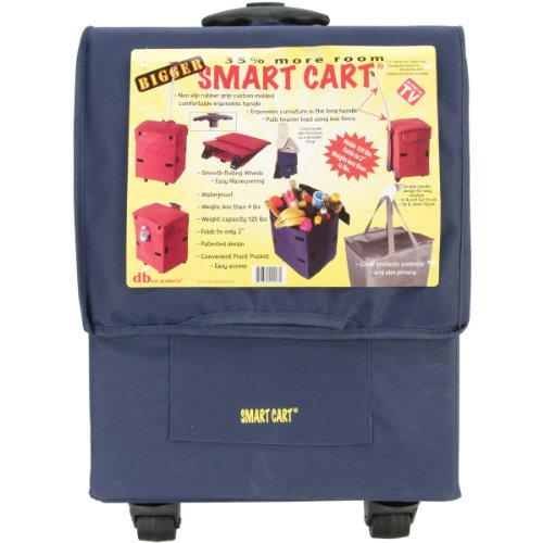 bigger-smart-cart-blue-multipurpose-rolling-collapsible-utility-cart-basket