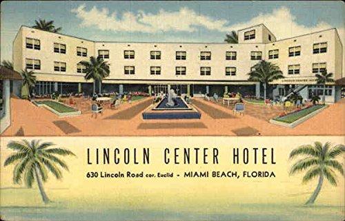 Lincoln Center Hotel Miami Beach, Florida Original Vintage ()