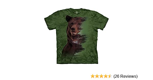 29ba69b2 The Mountain Brown Bear Forest T-Shirt