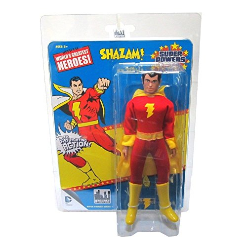 Super Powers Retro 8 Inch Series 1 Action Figures Shazam