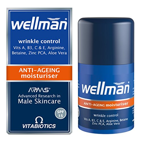 Wellman by Vitabiotics Anti-Ageing Moisturiser 50ml Review