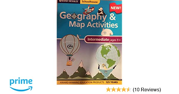 Amazon rand mcnally schoolhouse intermediate geography and map amazon rand mcnally schoolhouse intermediate geography and map activities 9780528934704 rand mcnally and company books gumiabroncs Images