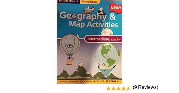 Workbook continents for kids worksheets : Amazon.com: Intermediate Geography & Map Activities (Rand McNally ...